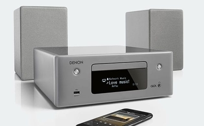 Picture of Denon RCD-N10 & SCN10 Speakers